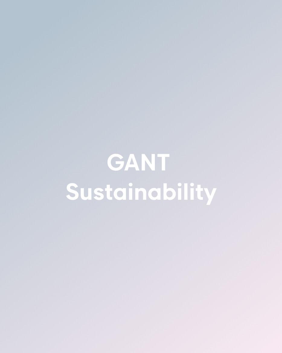 GANT Sustainability
