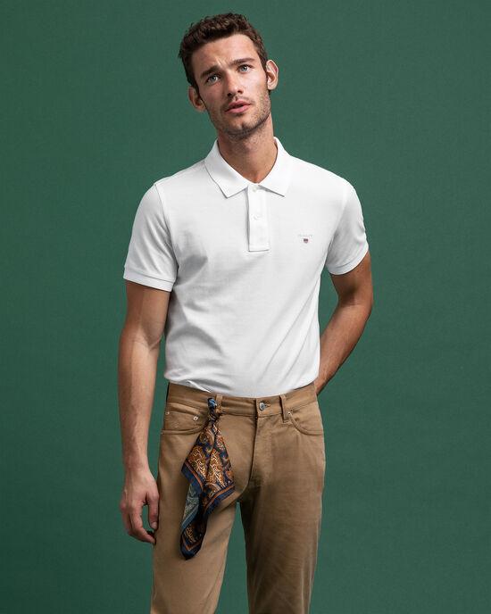 Polo en coton piqué Original