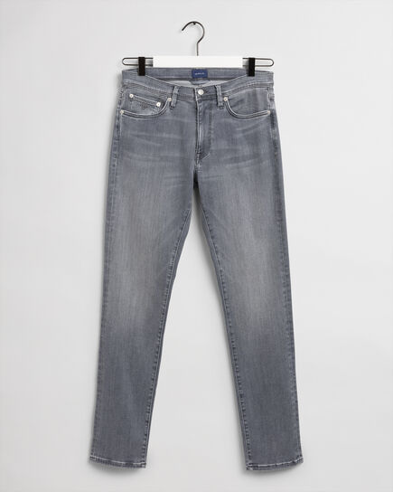 Jean extra slim fit gris Active-Recover Maxen