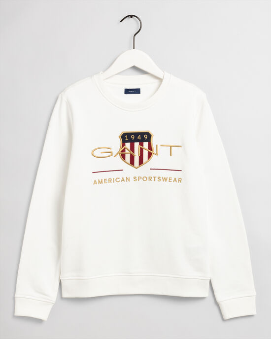 Sweat-shirt ras du cou Archive Shield