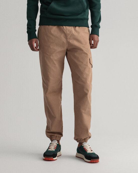 Pantalon de jogging regular fit en coton ripstop Allister