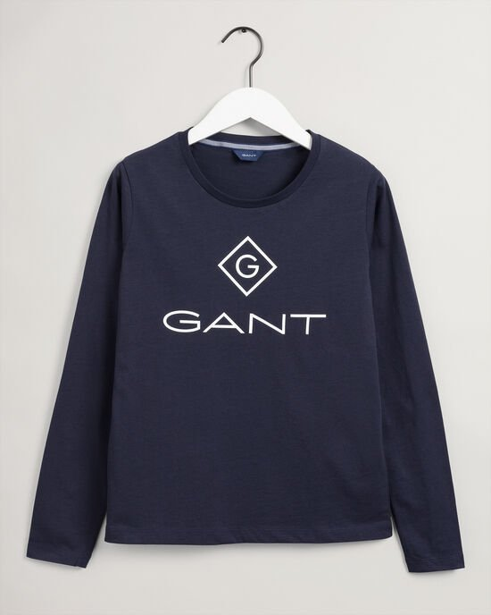 T-shirt à manches longues Logo