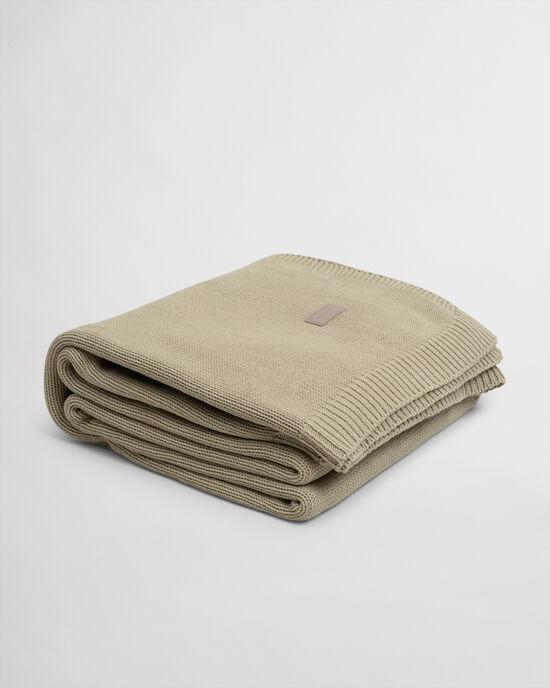 Jeté de lit en maille jersey
