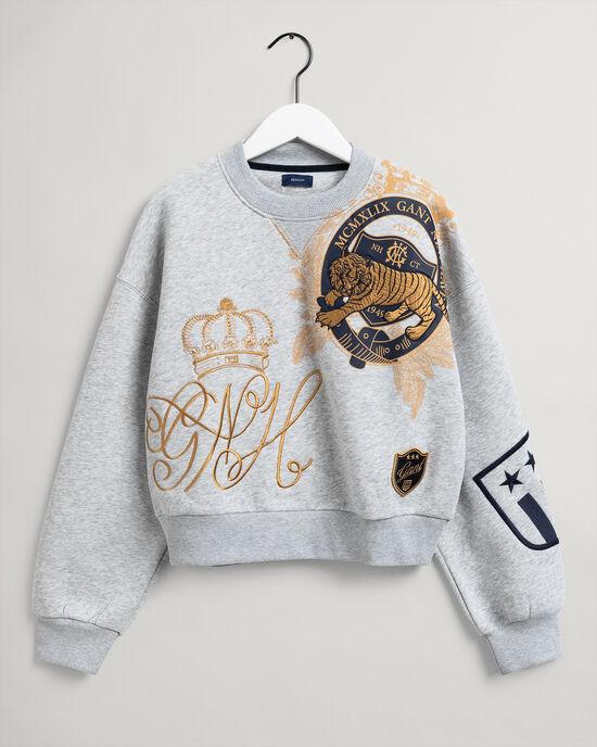 Sweat-shirt ras du cou US Royalty Teen Girls