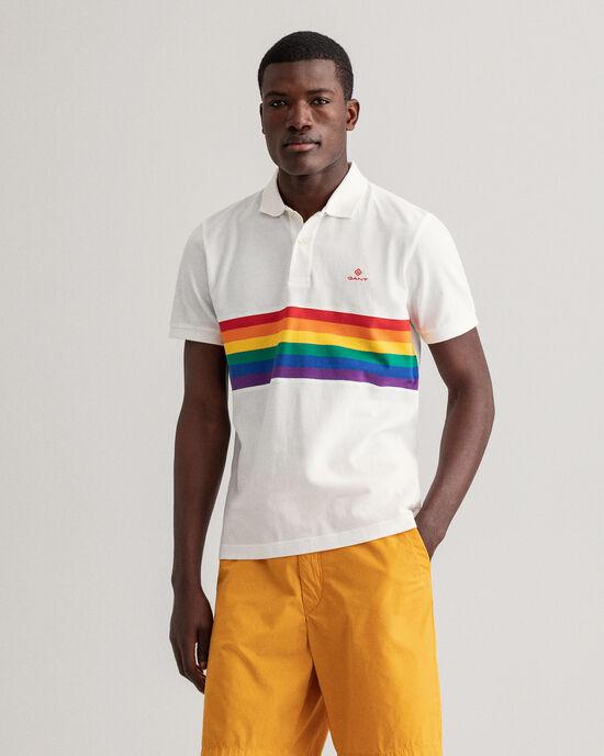 Polo Rugger en coton piqué Pride