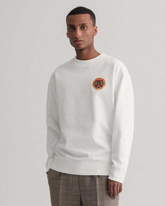 Sweat-shirt ras du cou relaxed fit World Crest