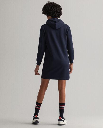 Robe-pull à capuche Logo