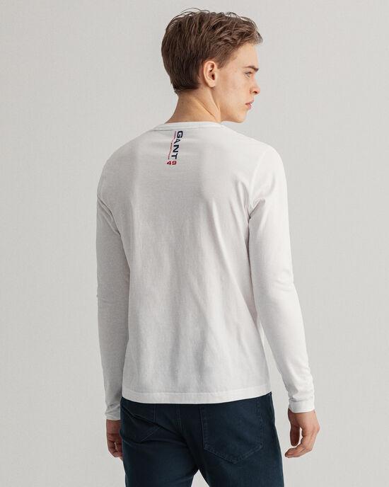 T-shirt à manches longues Retro Shield