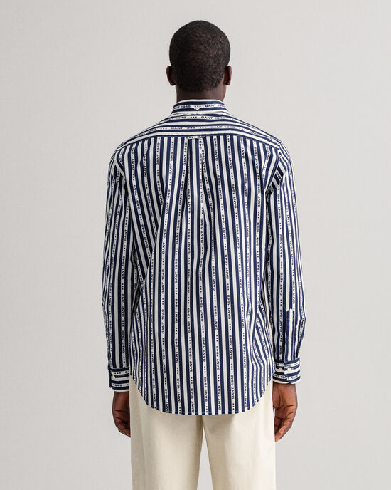 Chemise regular fit à rayures 1949