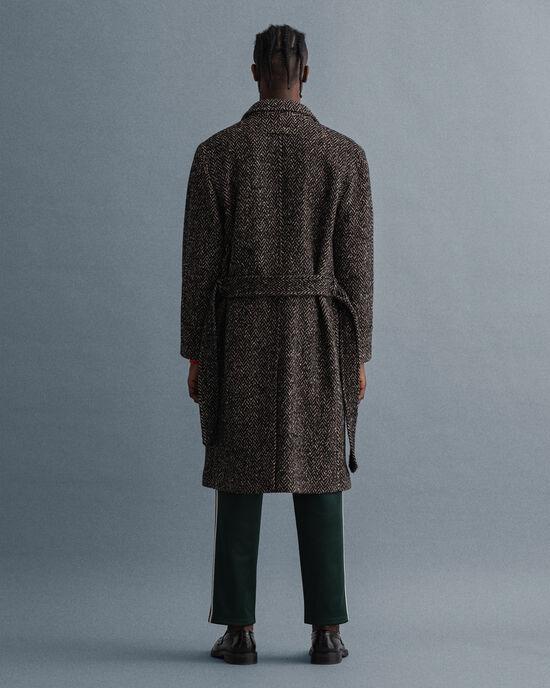Manteau à chevrons
