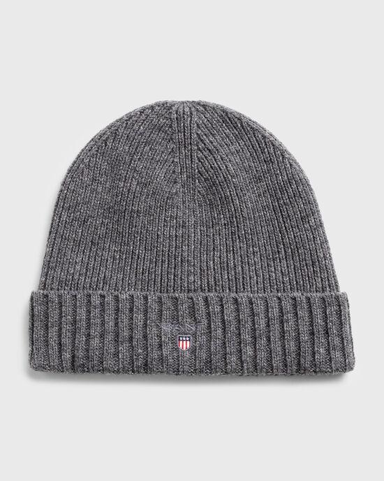 Bonnet en laine doublé