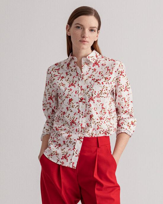 Chemise à imprimé Rose Bud
