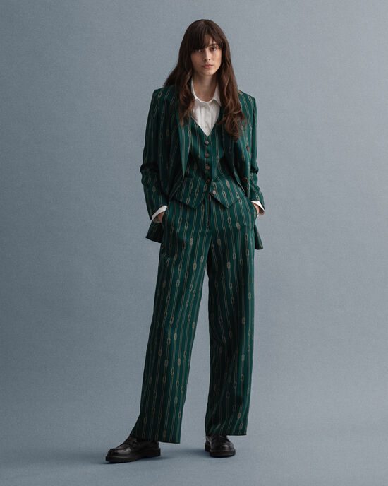 Pantalon à jambes larges Rope Design
