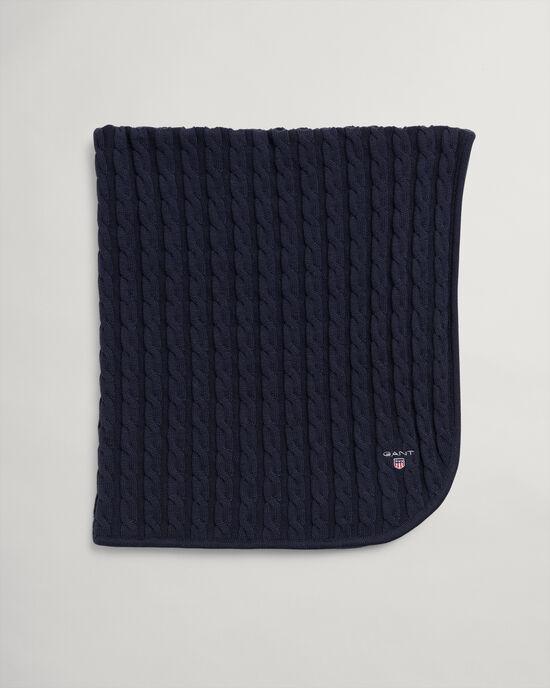 Couverture en coton à torsades Baby