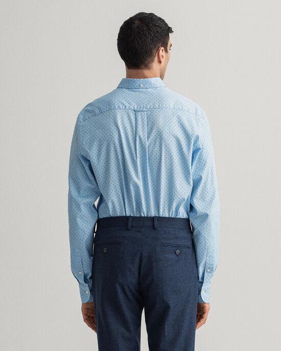 Chemise regular fit en coton Oxford à motif cachemire