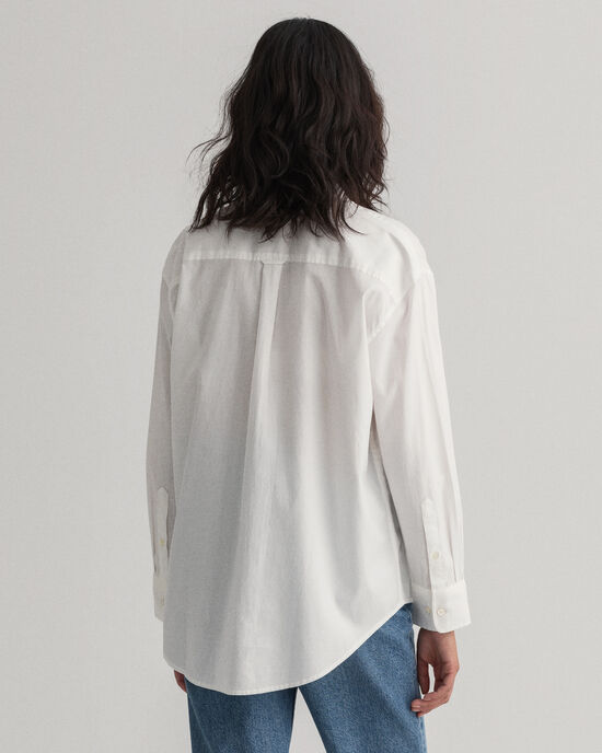 Chemise relaxed fit en coton Oxford