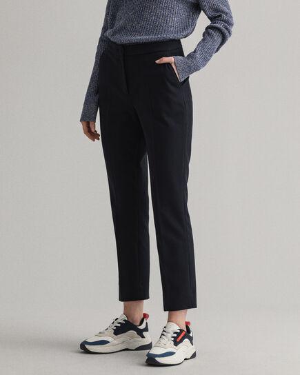 Pantalon cigarette en jersey de coton piqué Tech Prep™