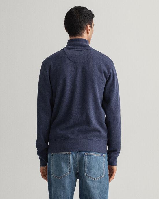 Sweat-shirt à demi-zip Sacker Rib
