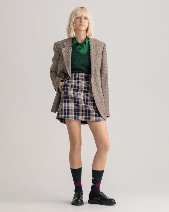 Mini-jupe à carreaux Heritage