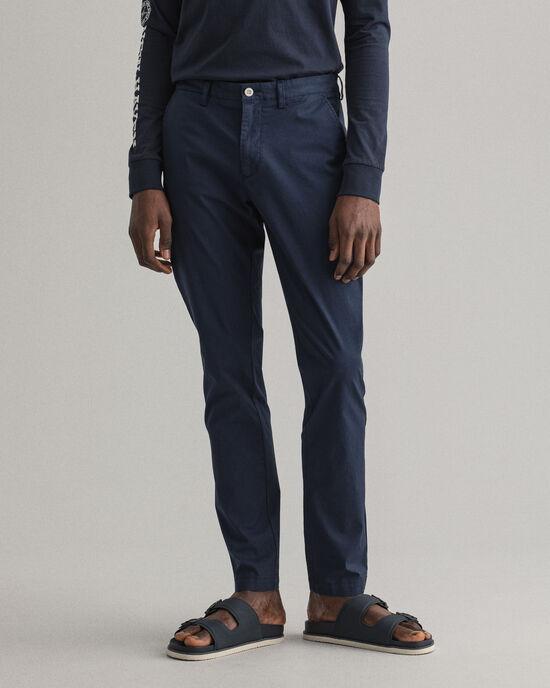 Pantalon chino Slim Fit Hallden Sunfaded