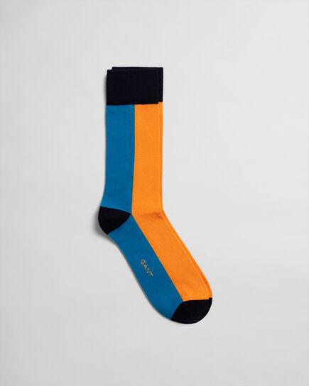 Chaussettes en colour-block