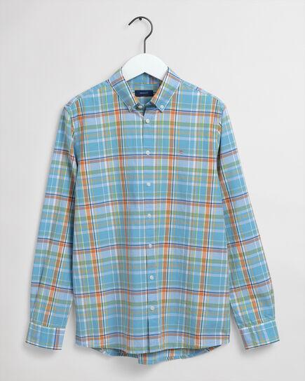 Chemise à carreaux madras Teen Boys