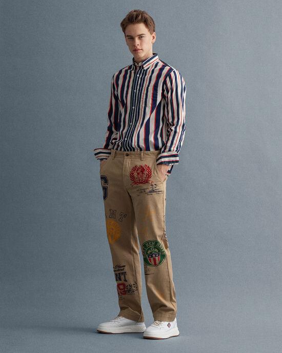Pantalon chino Crest