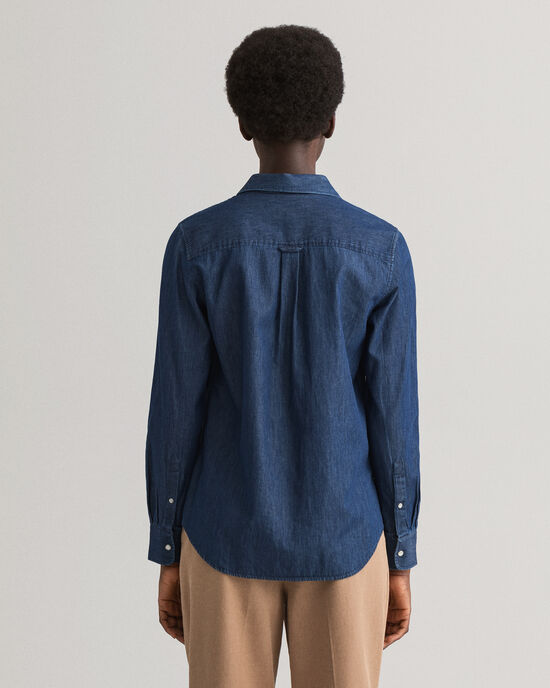 Chemise en chambray Contrast
