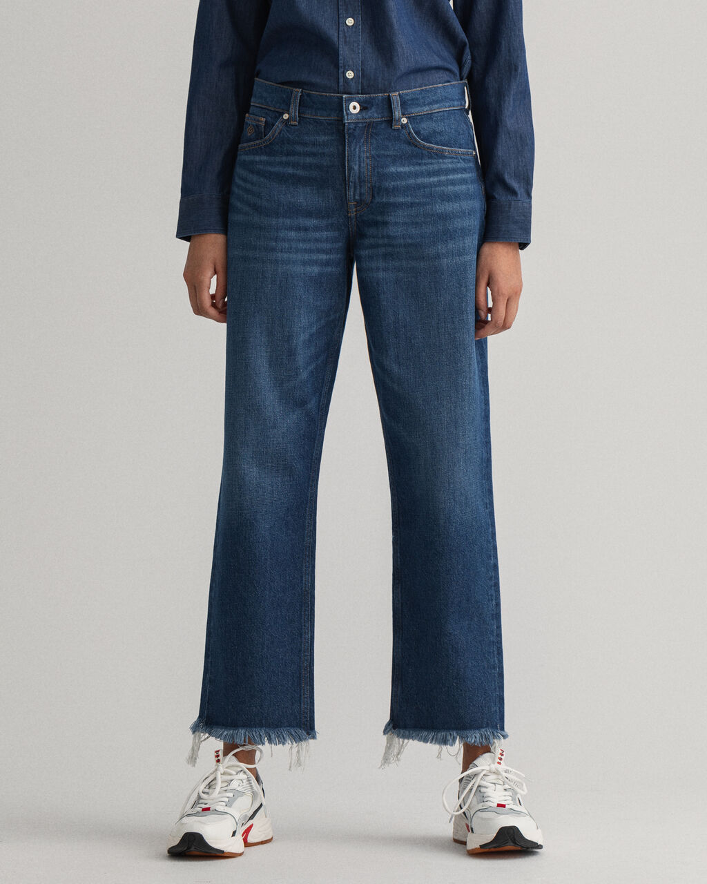 Jean relaxed fit court Camie