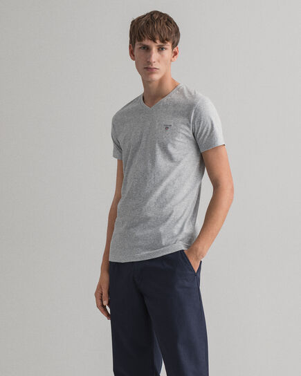 T-shirt col V slim fit Original