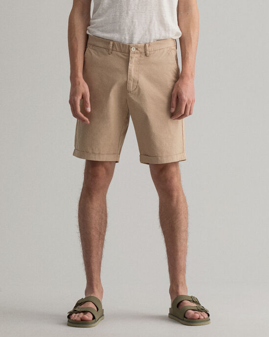 Short regular fit Sunfaded