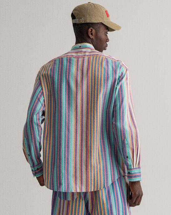 Chemise décontractée à rayures Windblown Oxford