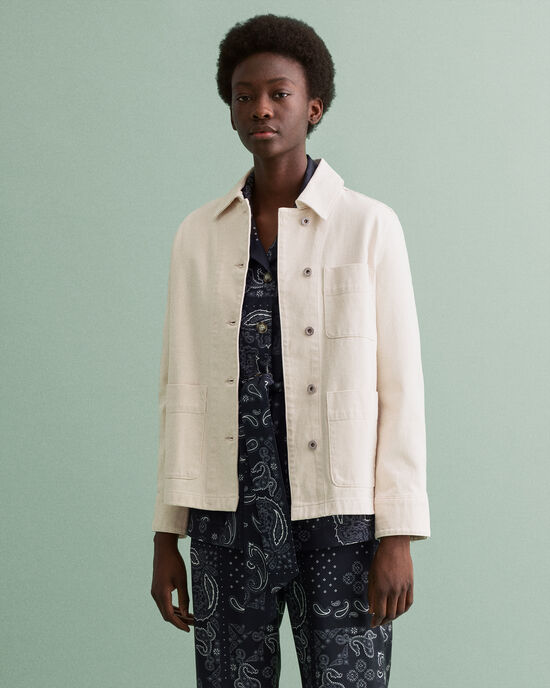 Veste-chemise en coton biologique