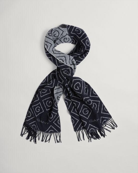 Écharpe en laine Iconic G