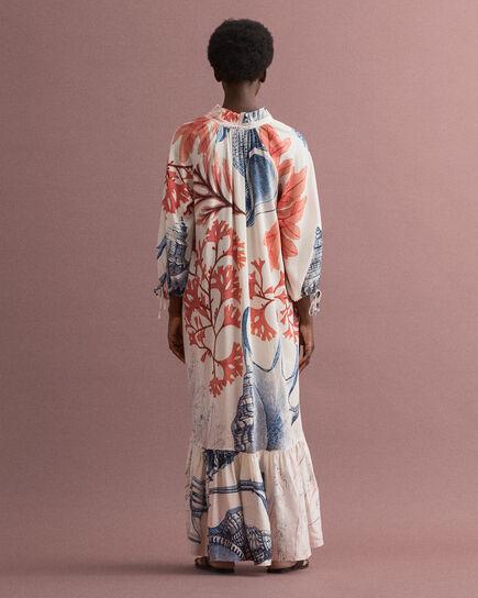 Robe à imprimé Seashell