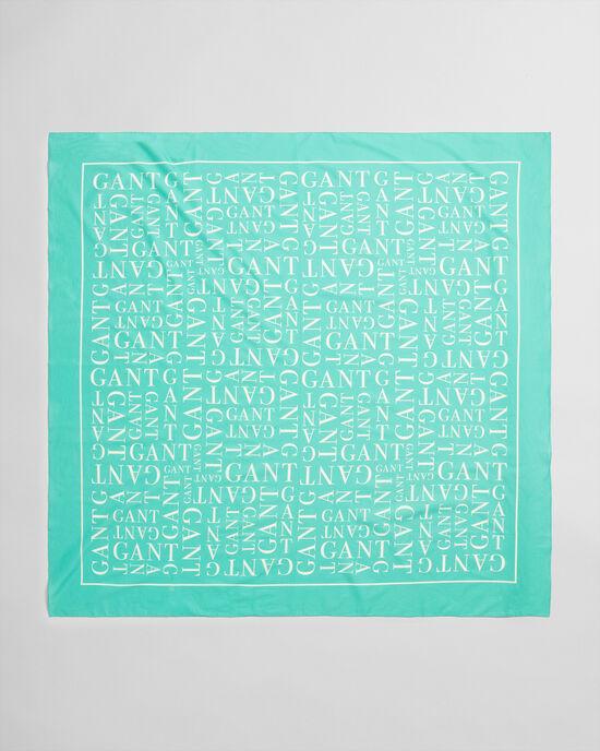 Paréo à imprimé Typography