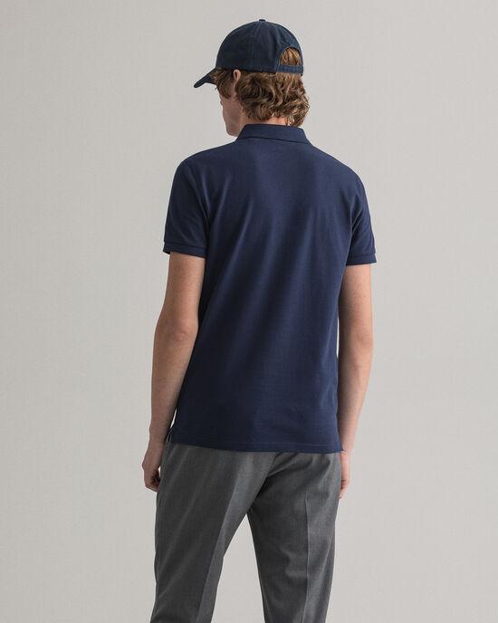 Polo slim fit en coton piqué Original