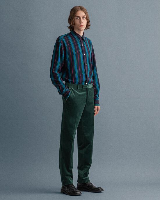 Pantalon de costume en velours